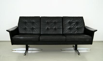 magasin m bel 60er jahre leder sofa 139. Black Bedroom Furniture Sets. Home Design Ideas