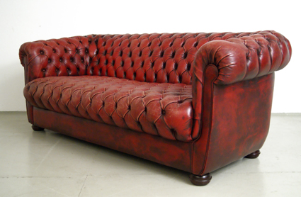 Magasin M Bel 70er Jahre Chesterfield Sofa 175