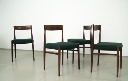 magasin m bel 60er jahre palisander st hle 193. Black Bedroom Furniture Sets. Home Design Ideas