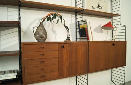 magasin m bel teak string regalsystem 202. Black Bedroom Furniture Sets. Home Design Ideas