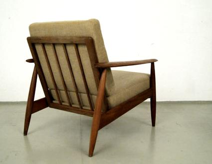 Magasin Möbel 60er Jahre Teak Sessel 225