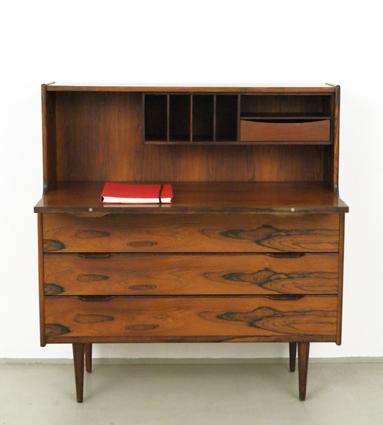 Sekretär Modern magasin möbel mid century modern rosewood writing desk