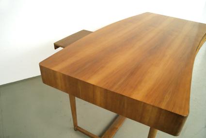 magasin m bel grosser 50er jahre schreibtisch 252. Black Bedroom Furniture Sets. Home Design Ideas