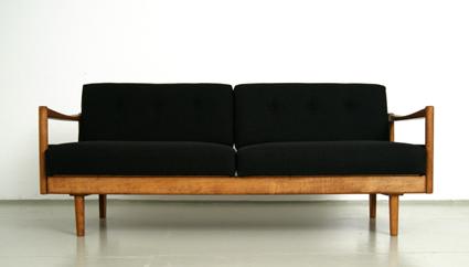 magasin m bel kleines 60er jahre sofa schlafsofa 263. Black Bedroom Furniture Sets. Home Design Ideas