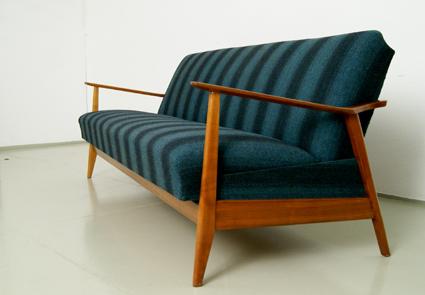 magasin m bel 60er jahre schlafsofa 279. Black Bedroom Furniture Sets. Home Design Ideas