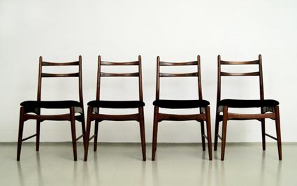 magasin m bel vier 60er jahre st hle 275. Black Bedroom Furniture Sets. Home Design Ideas