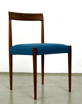 magasin m bel 60er jahre esszimmer st hle von l bke 316. Black Bedroom Furniture Sets. Home Design Ideas