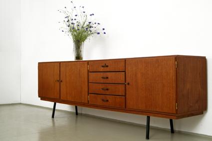 50er Jahre Möbel magasin möbel 50er jahreteak sideboard 323