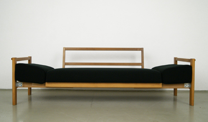 magasin m bel 70er jahre schlafsofa 332. Black Bedroom Furniture Sets. Home Design Ideas