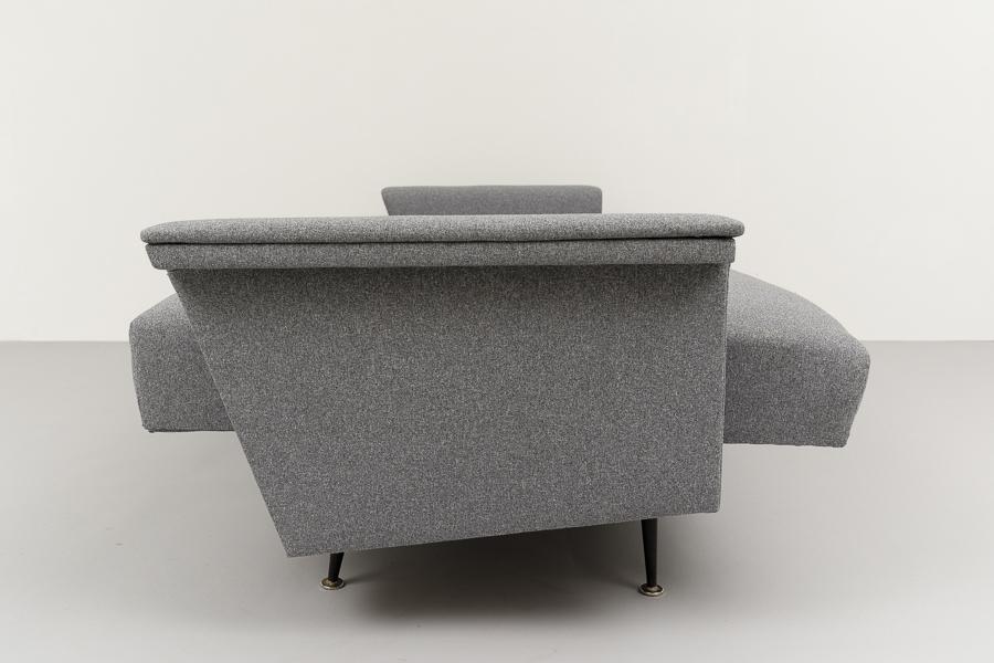 Magasin m bel elegantes 60er jahre sofa schlafsofa 684 for Schlafsofa 60er jahre