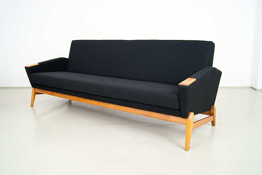 60er-Jahre-Couch-Daybed