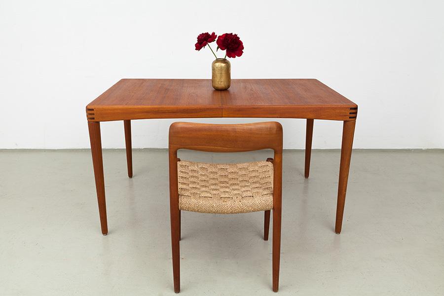 Magasin Möbel 60er Jahre Teak Esstisch 401