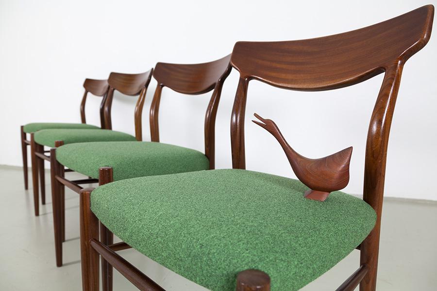 60er Jahre Stühle Lübke124