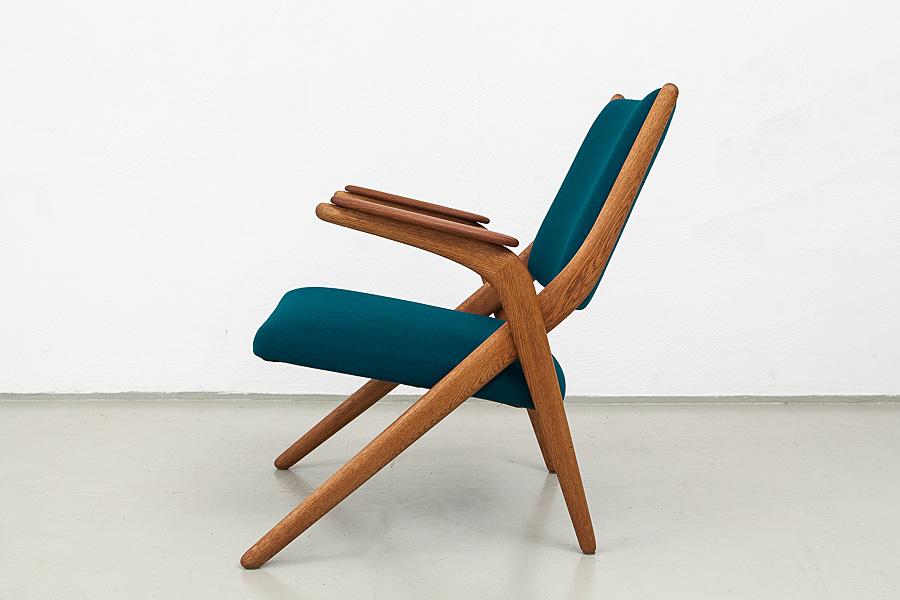 138_50er Jahre Teak Sessel