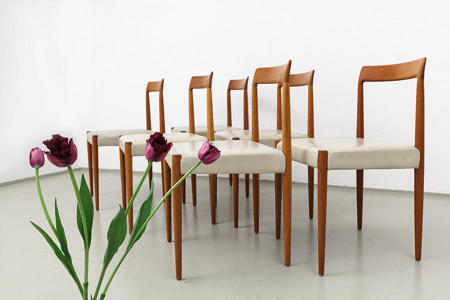 magasin möbel » 60er jahre esszimmer stühle von lübke (457), Esszimmer dekoo
