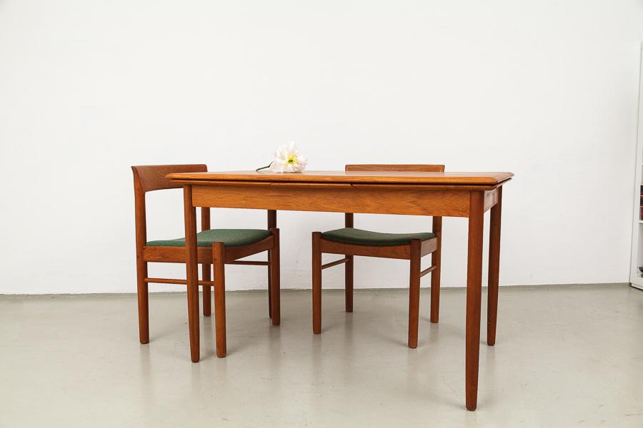 Teak-Tisch, Dänemark