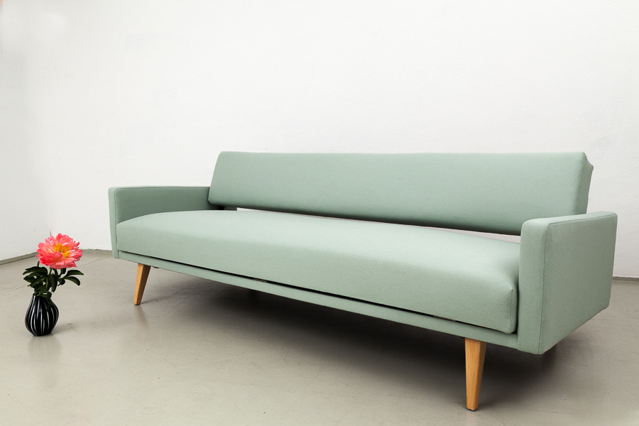 Sofa, von Pentenrieder für Kaufeld, 50er