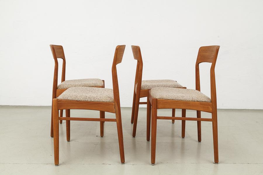 Magasin Möbel 60er Jahre Teak Stühle 486