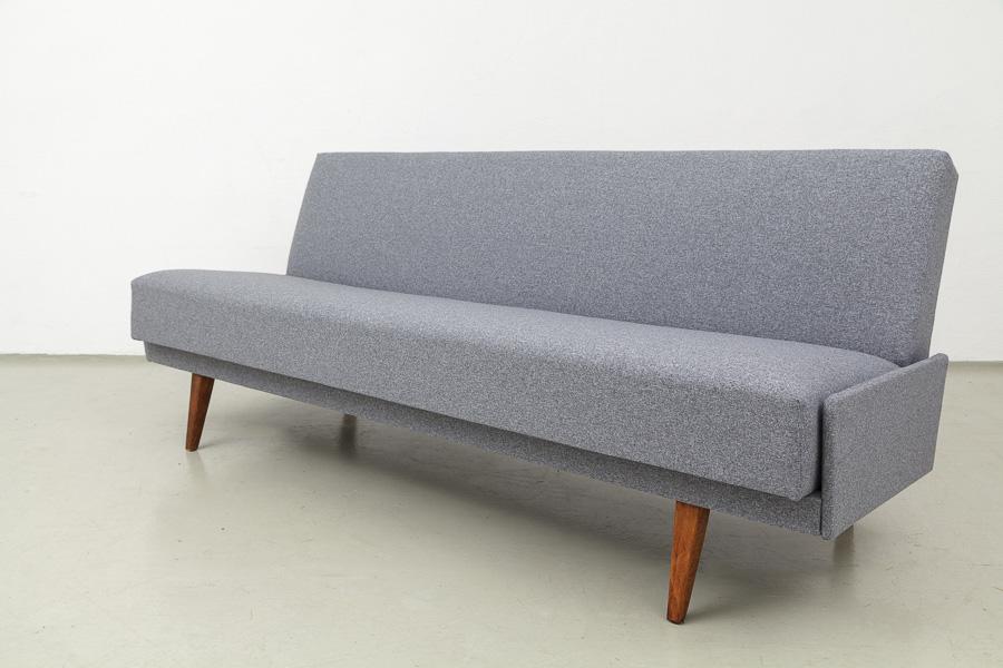 magasin m bel 60er jahre sofa daybed grau 511 verkauft. Black Bedroom Furniture Sets. Home Design Ideas