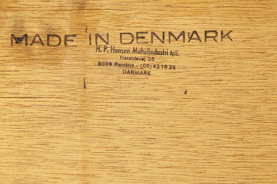 60er Jahre HP Hansen Teak Sideboard_60er Jahre Nussbaum Teak  Sideboard_IMG_0409