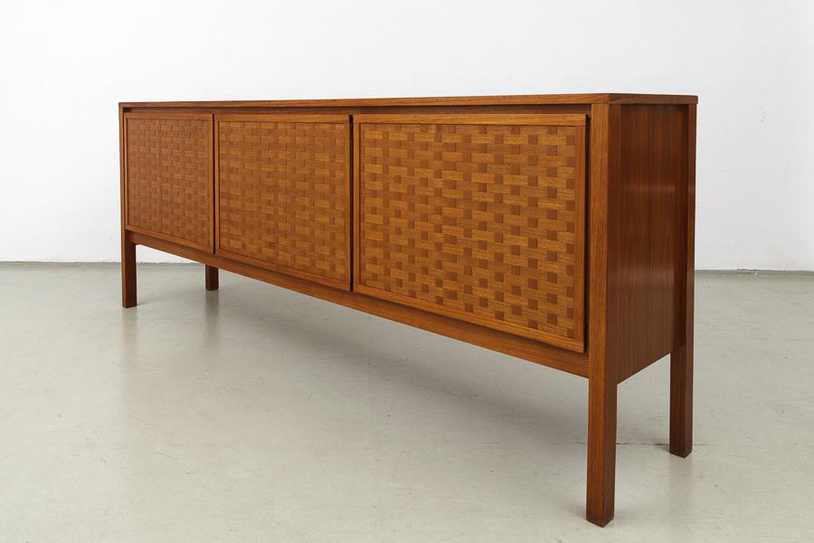 60er Jahre Nussbaum Teak  Sideboard_IMG_0354