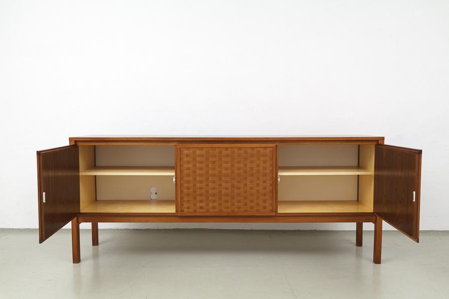 60er Jahre Nussbaum Teak  Sideboard_IMG_0368