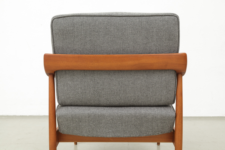 Sessel modern  MAGASIN Möbel » Mid-century modern Knoll Antimott teak easy chairs ...