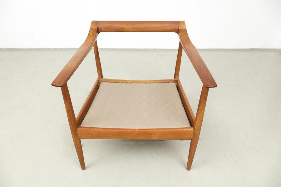 magasin m bel 60er jahre knoll antimott teak sessel 550. Black Bedroom Furniture Sets. Home Design Ideas