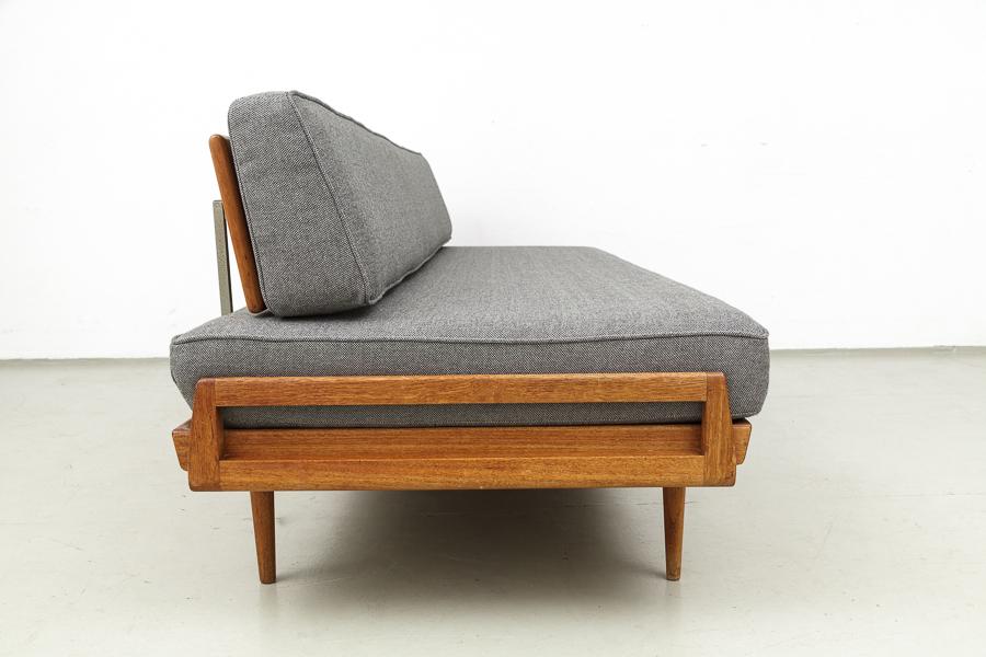 magasin m bel 60er jahre teak knoll antimott sofa 552. Black Bedroom Furniture Sets. Home Design Ideas
