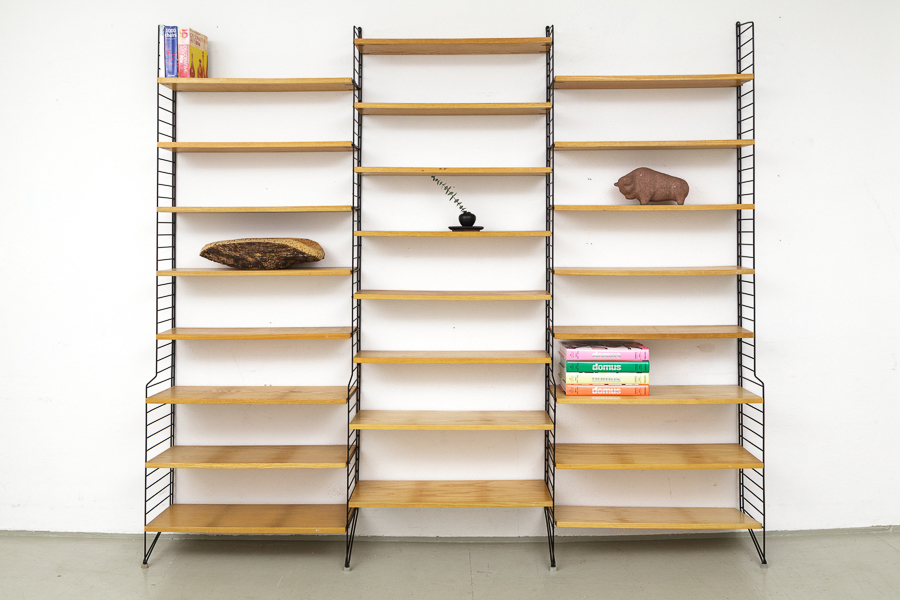 magasin m bel string shelving system 546. Black Bedroom Furniture Sets. Home Design Ideas