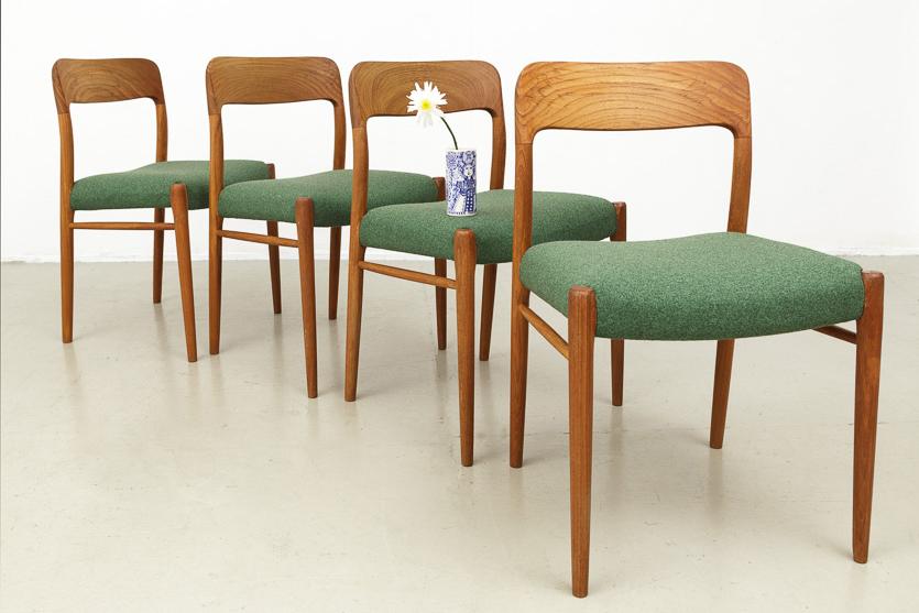 Stühle von N.O. Møller