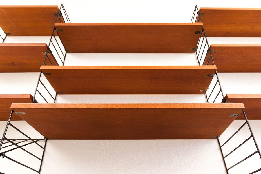 magasin m bel string teak regal regalsystem 571. Black Bedroom Furniture Sets. Home Design Ideas