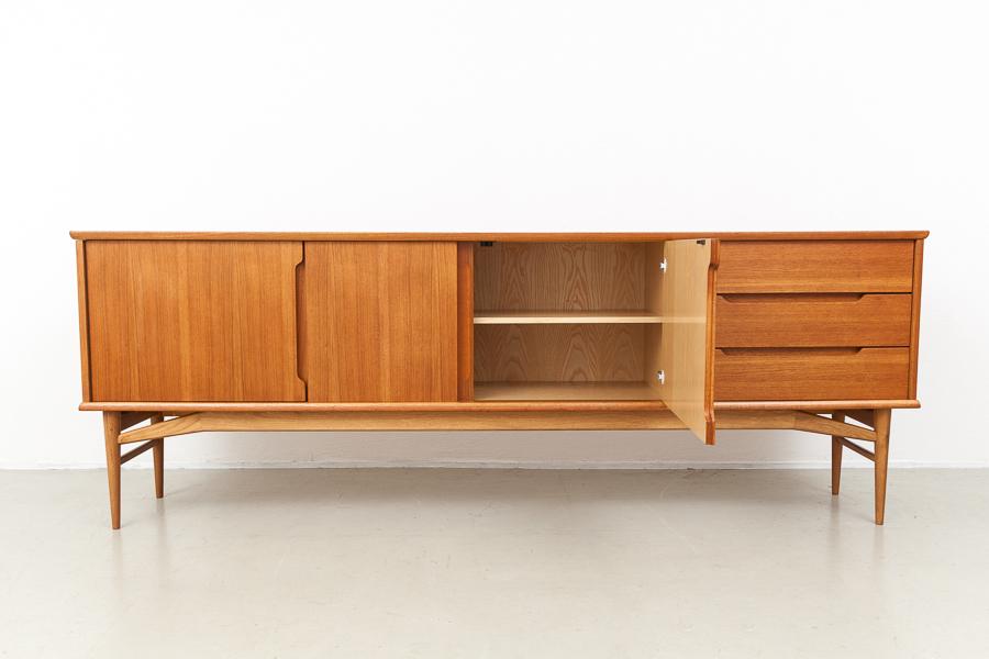 magasin m bel 60er jahre fredericia teak sideboard 580. Black Bedroom Furniture Sets. Home Design Ideas