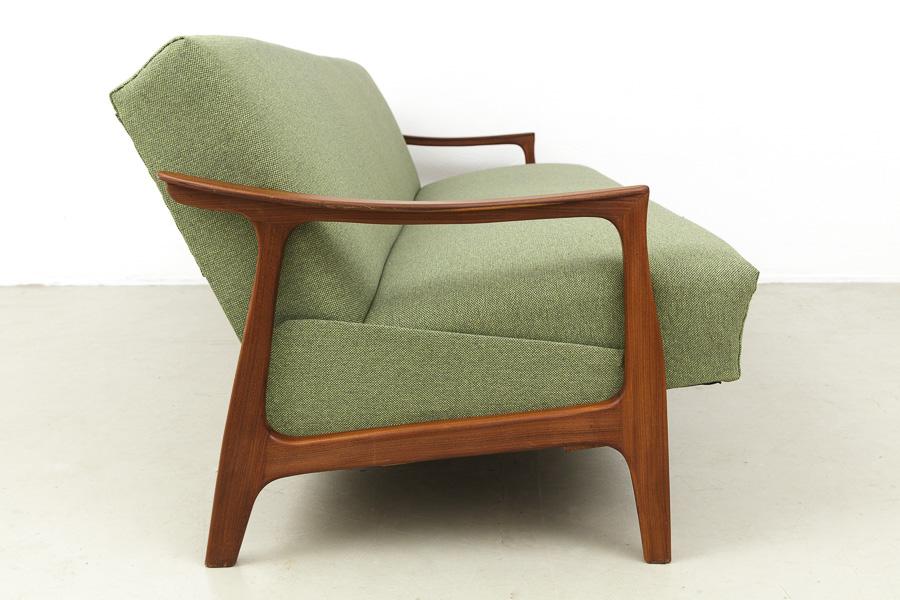 60er Jahre Teak Sofa