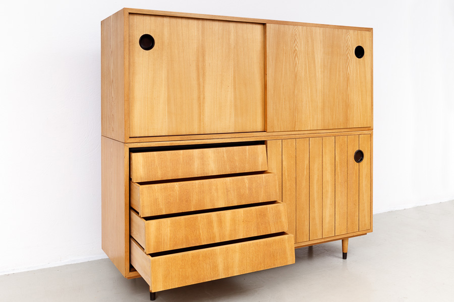 magasin m bel 50er jahre erich stratmann sideboard 614. Black Bedroom Furniture Sets. Home Design Ideas