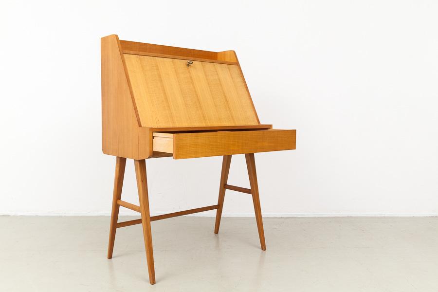 magasin m bel mid century modern wk moebel secretary 620. Black Bedroom Furniture Sets. Home Design Ideas