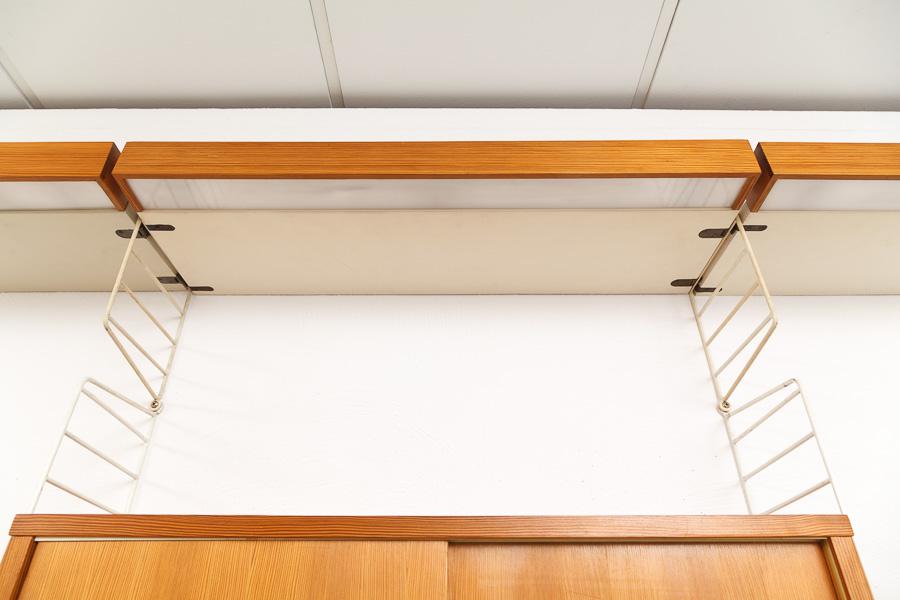 magasin m bel 50er jahre string regal regalsystem 624. Black Bedroom Furniture Sets. Home Design Ideas
