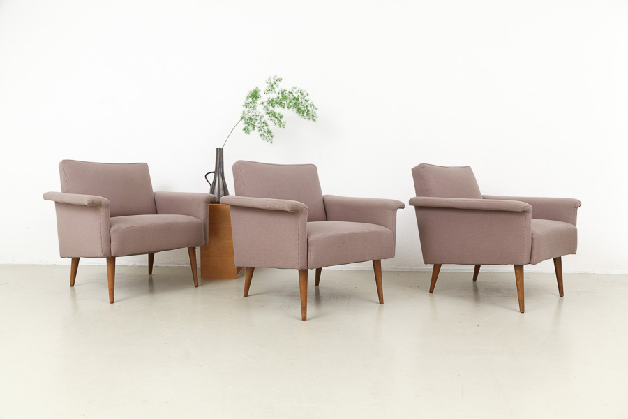 Mid Century Modern Walter Knoll Easy Chairs 622 Magasin Mobel