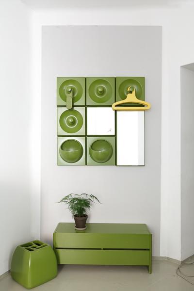 magasin m bel 70er jahre sch nbuch quadro garderobe 641. Black Bedroom Furniture Sets. Home Design Ideas