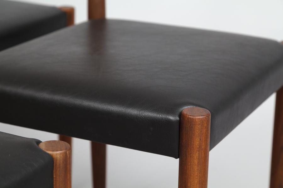 magasin m bel 60er jahre teak st hle 637. Black Bedroom Furniture Sets. Home Design Ideas