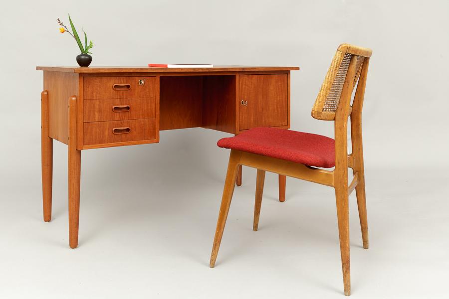 Teak - Schreibtisch Dänemark
