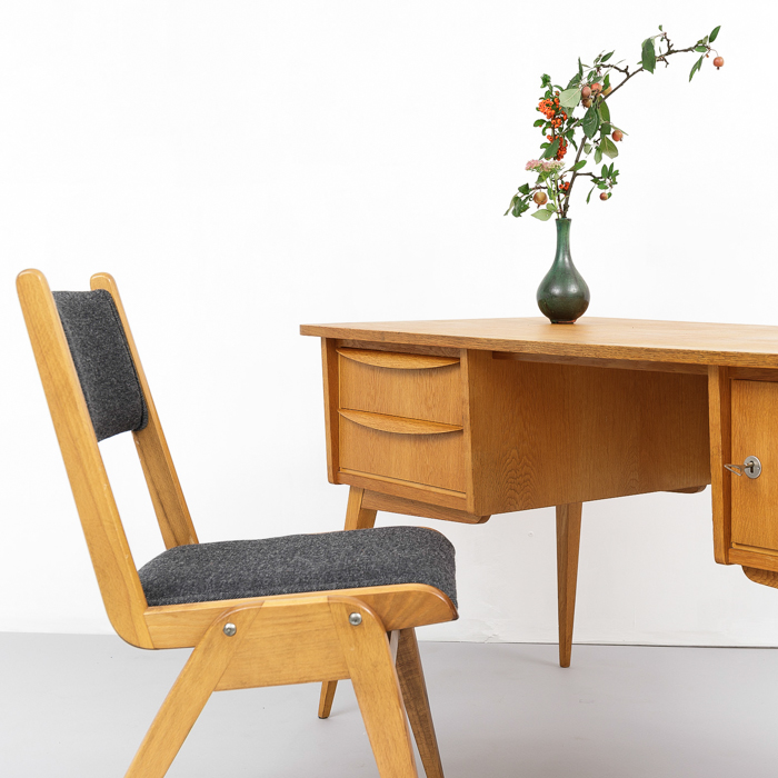 midcentury Schreibtisch, 50er