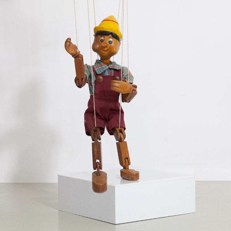 empfohlen von magasin alte handgeschnitzte pinocchio marionettenfigur 812
