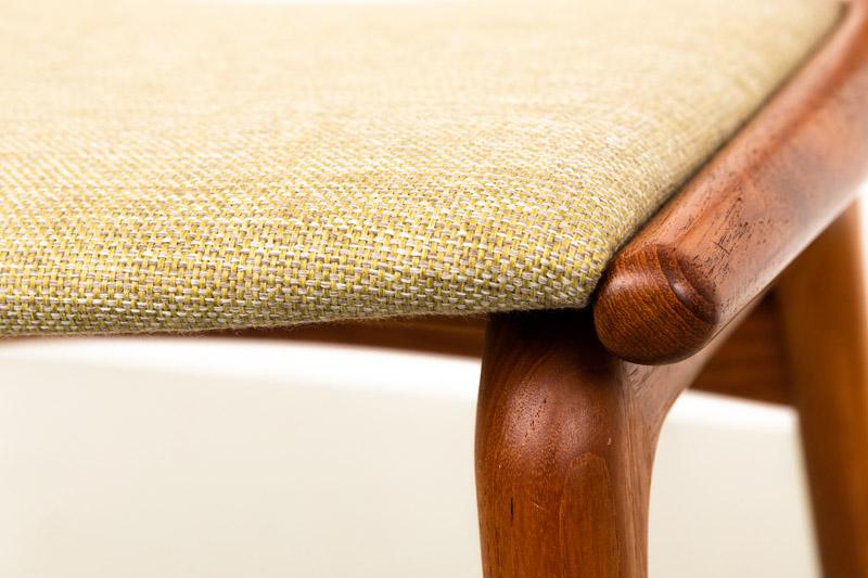 Teak Stühle, Boomerang, 60er