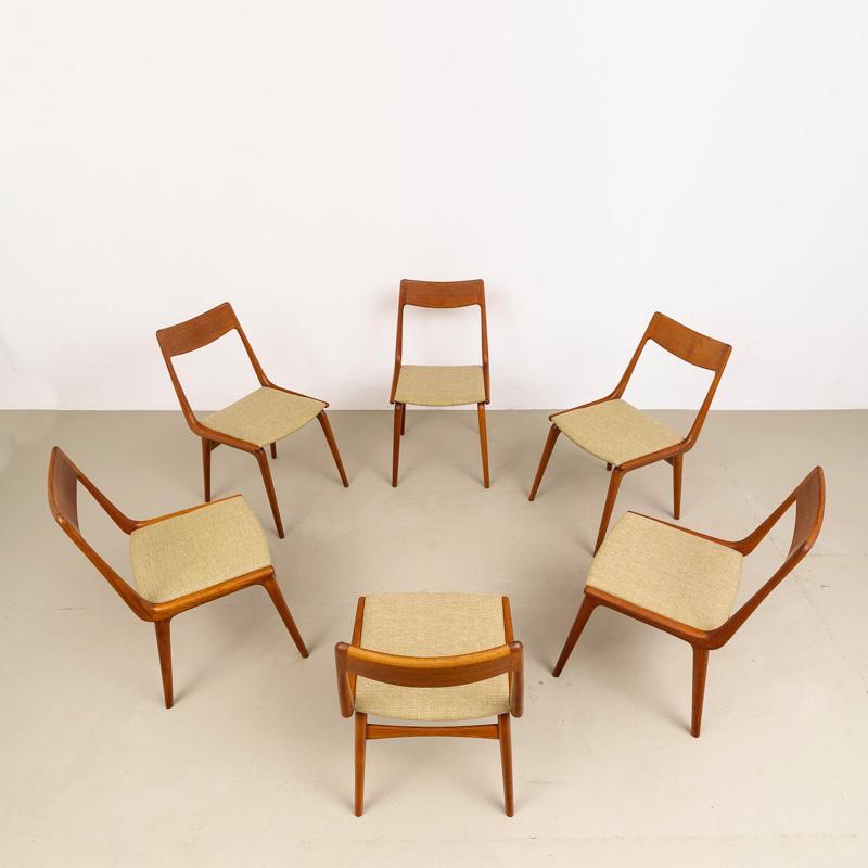 Boomerang Stühle, boomerang chairs