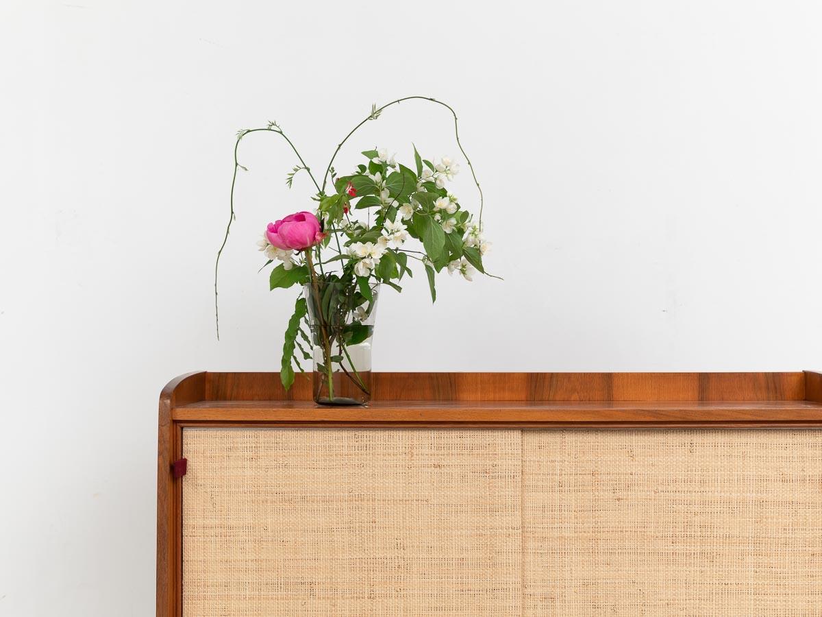 kleines Sideboard, 60er, Sisaltüren
