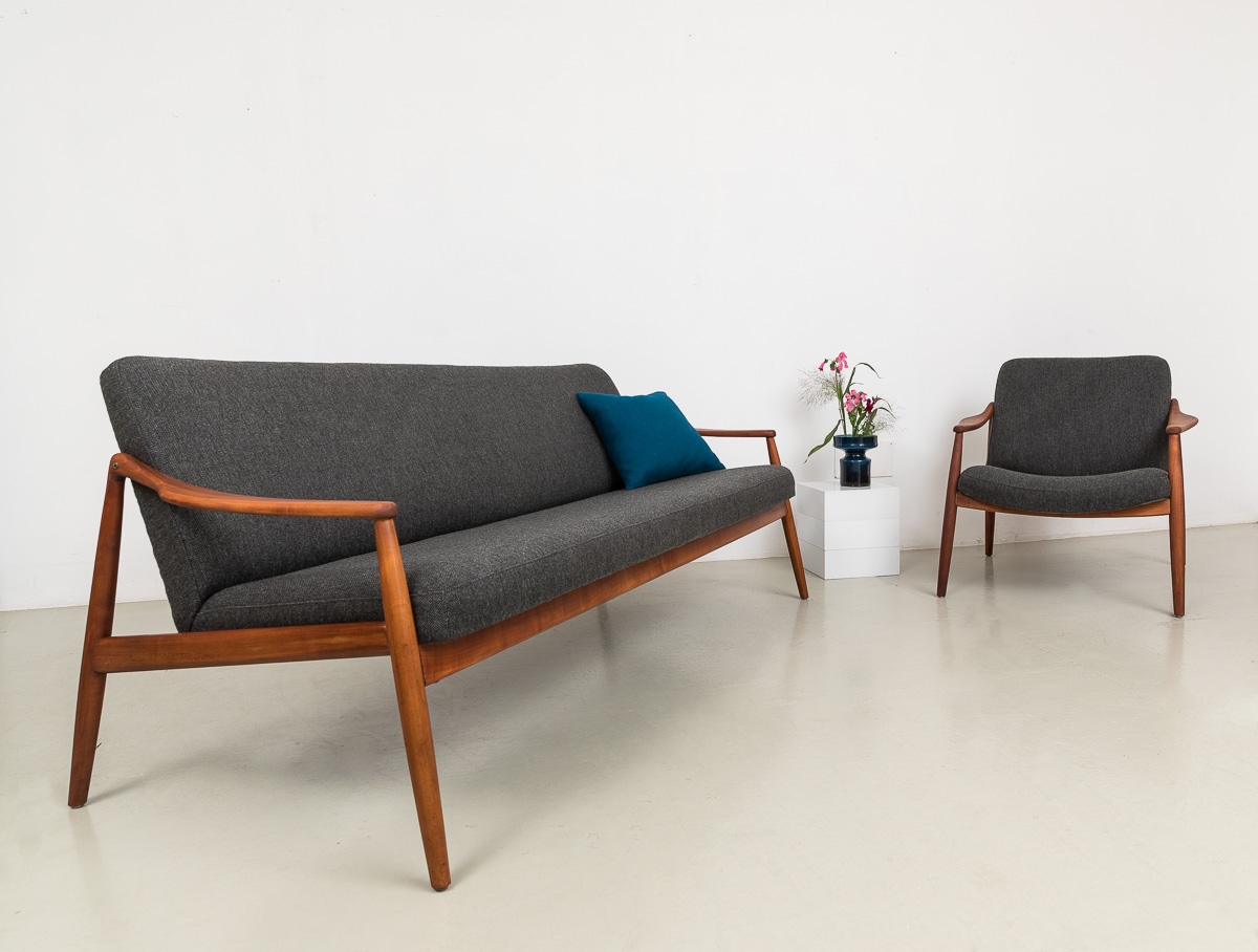Sofa von H. Lohmeyer für Wilkhan, 60er