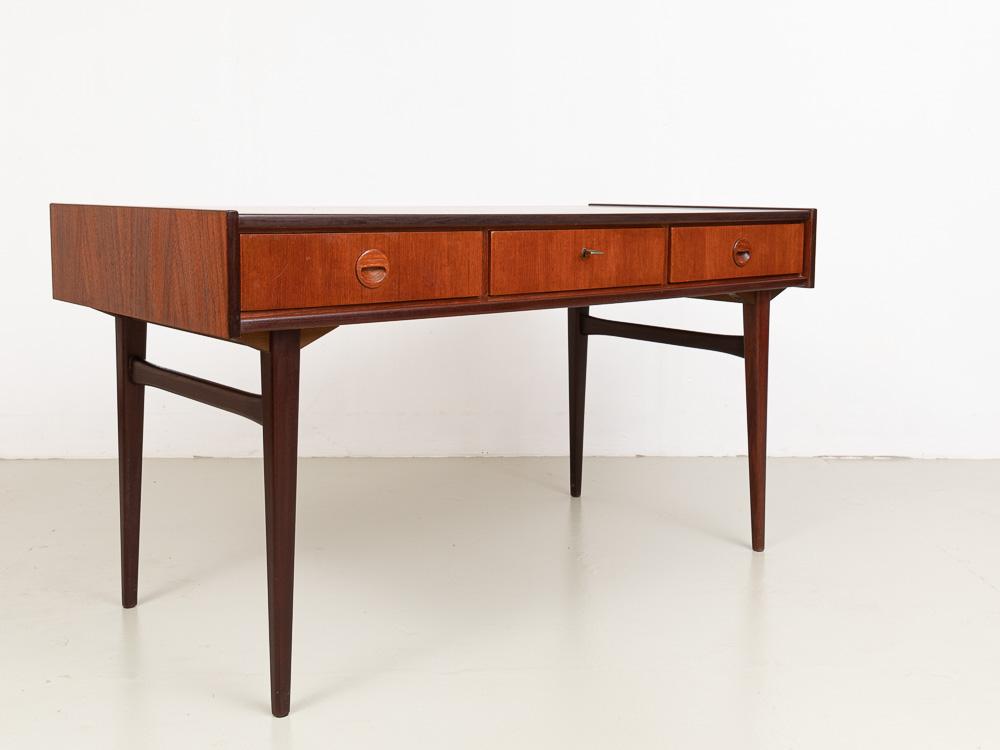 Teak Schreibtisch, 60er Jahre, Dänemark