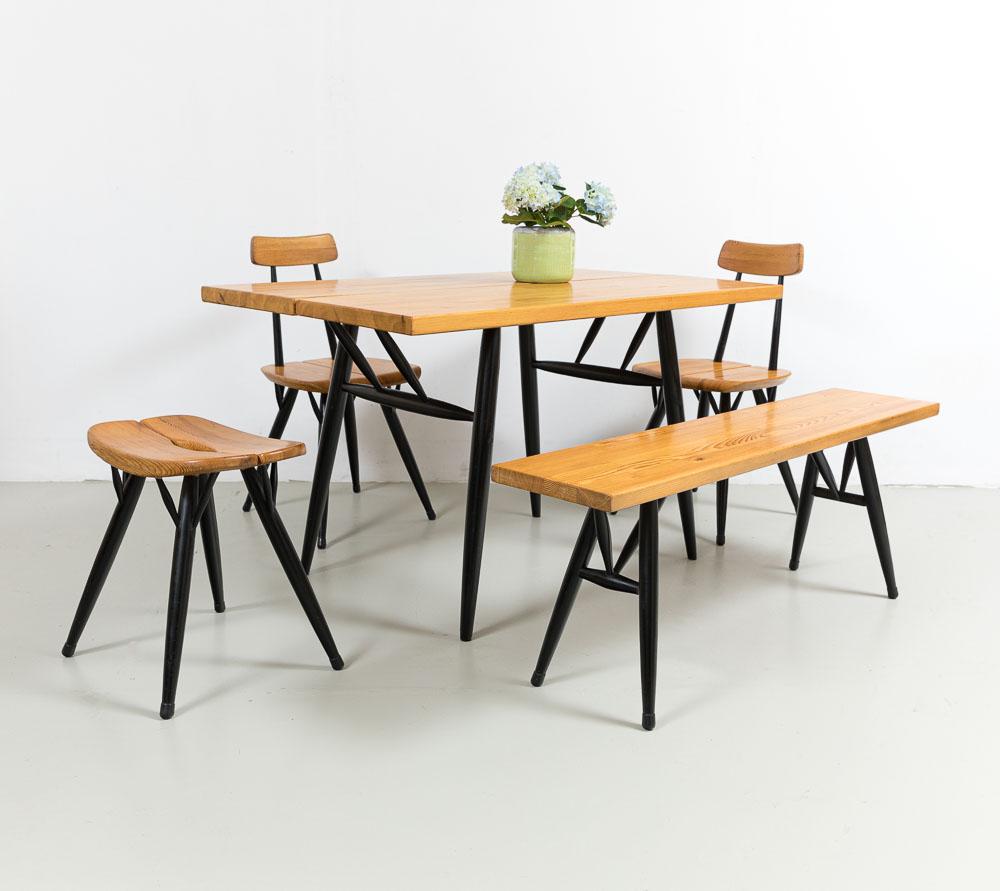 Sitzgruppe 50er, Ilmari Tapiowaara, Schweden, Laukaan Puu