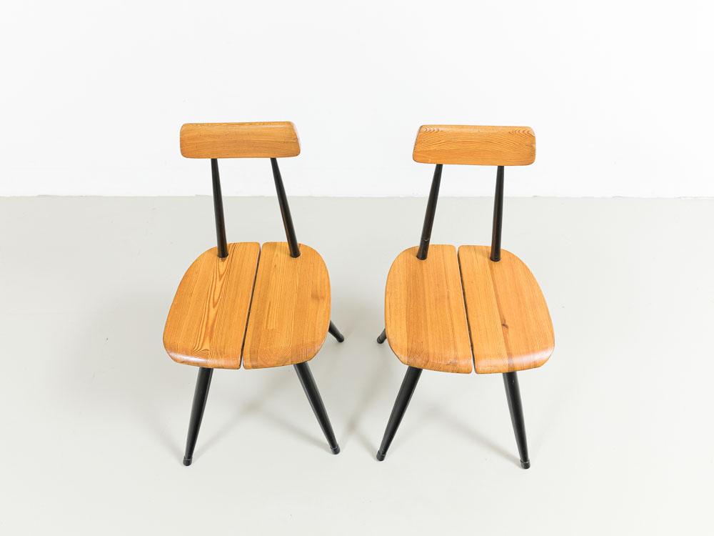 Stühle, 50er, Ilmari Tapiowaara, Schweden, Laukaan Puu